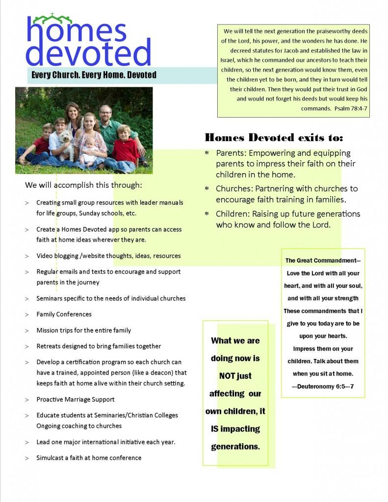 Mission Vision Handout IV Page I